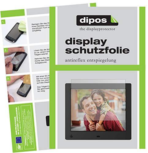 dipos I 6X Schutzfolie matt passend für NIX Advance 8 Zoll Digitaler Bilderrahmen Folie Displayschutzfolie