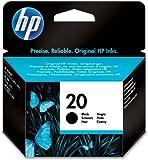 HP 20 schwarz Original Tintenpatrone