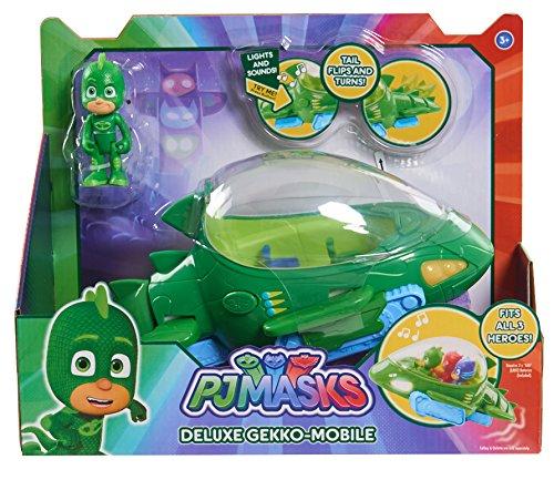PJ Masks Veicolo Deluxe Gecomobile e Geco Verde