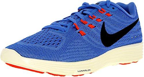 Nike Wmns Lunartempo 2, Chaussures de Running Entrainement Femme Bleu - Azul (Chlk Blue / Blk-Rcr Bl-Hypr Orng)