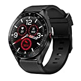 Smartwatch Bluetooth5.0 Fitness Armbanduhr 1,3 Zoll Voll Touchscreen IP68 Wasserdicht Fitness Trackers Sportuhr mit Pulsuhren Schlafmonitor Schrittzähler Kalorienzähler für Damen Herren iOS Android
