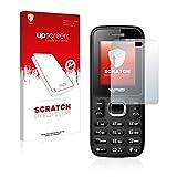 upscreen Scratch Shield Clear Bildschirmschutz Schutzfolie für Simvalley Mobile SX-305 (hochtransparent, hoher Kratzschutz)