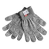 1 Paar Anti-Cut Verschleißfeste Arbeitsschutzhandschuhe Anti Abrieb Stufe 5 Küche Schneideschnittfeste Handschuhe Breath