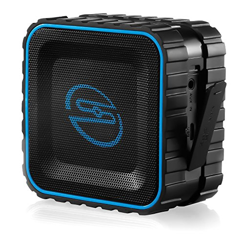 deleyCON SOUNDSTERS - rocktank mini BT - mini Bluetooth Lautsprecher Box Kabellos Wasserdicht -...