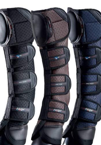 Premier Equine Knee Pro-Tech Airtechnology Transportgamaschen Größe M, Farbe Black