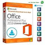 Microsoft Office 2016 Professional Plus Sie erhalten bei uns einen originale Microsoft Office 2016 Professional Plus Lizenz Key. Mit der herunterladbaren Anleitung wird die Installation für Sie wie ein Kinderspiel. Es handelt sich um eine DAUERLIZENZ...