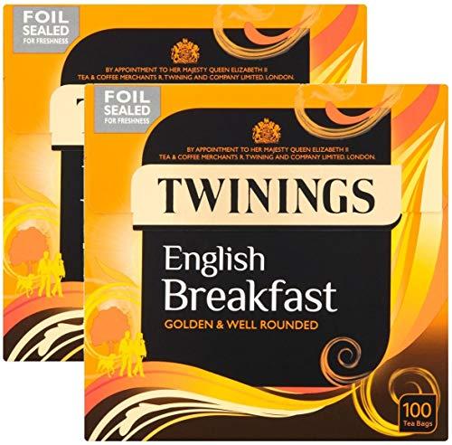 2x Twinings English Breakfast Tea Tee 100 Beutel