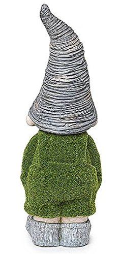 GARDEN-GRIFF-THE-BOY-GNOME-NOVELTY-FLOCKED-STONE-EFFECT-GARDEN-PATIO-ORNAMENT-ANIMAL-OUTDOOR-NEW