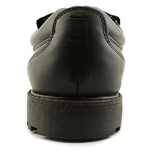 GH Bass & Co Dax Rund Leder Slipper Black