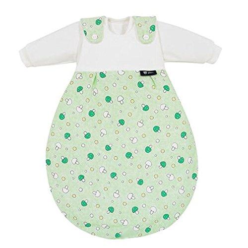 Alvi 713-3 Baby-Mäxchen Außensack Glückspilz grün, Größe:80/86