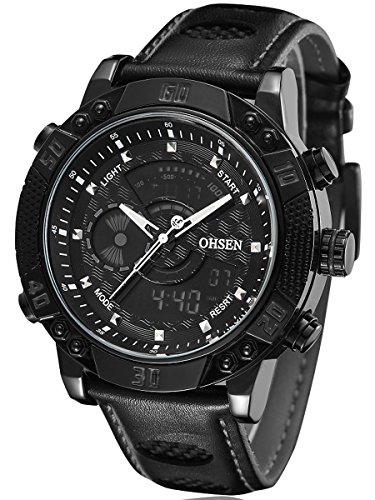 alienwork-analogue-digital-watch-multi-function-lcd-wristwatch-backlight-leather-black-black-osad160