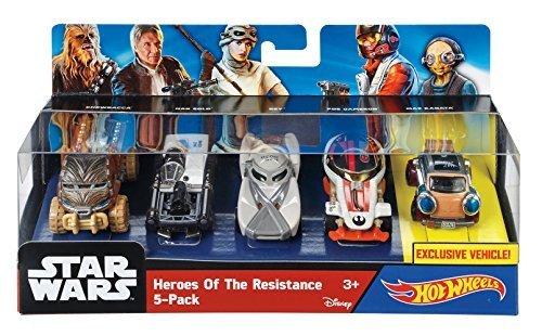 Hot Wheels Star Wars Heroes Of Resistance 5-Pack by Hot Wheels