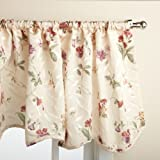 Best Home Fashion Valances - Lorraine Home Fashions Whitfield Floral 52-inch x 18-inch Review