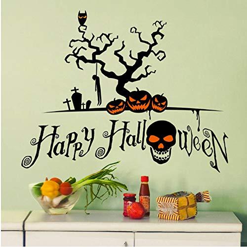 kin Cartoon Wall Sticker Window Home Decoration Decal Decor Stickers Halloween Decor Window Vinyl Decal Sticker ()