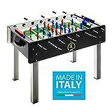 Calciobalilla FAS PRO ITALY NERO Aste Uscenti Palline + SPRAY LUBRIFICANTE - ESCLUSIVA ITALIA -...