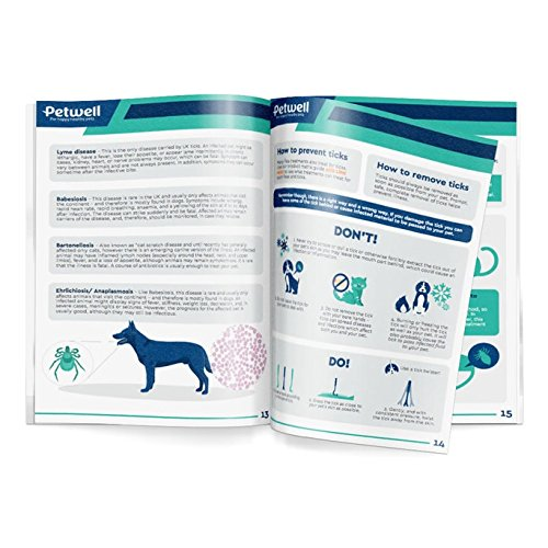 Frontline Spot On For Medium Dogs – 6 Pipettes – INCLUDES FREE EXCLUSIVE PETWELL® FLEA AND TICK E BOOK