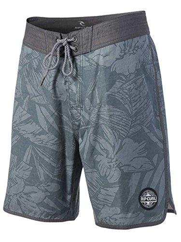 """Herren Boardshorts Rip Curl Layday Sunny Trip 19"""" Boardshorts Black"""