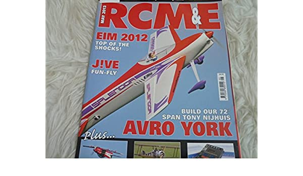 R C M & E Model world magazine may 2013 free clean sweep