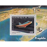 Niger block32 (complete issue) 1981 Flights of Space Shuttle (Stamps for collectors) Space