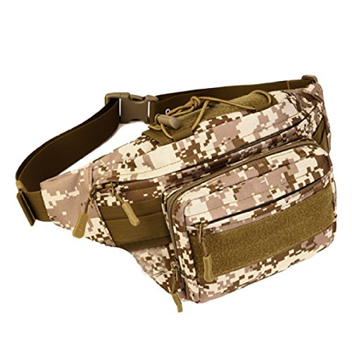 Multifunktionale Outdoor Fitness Sport Taille Taschen Mehrfarbig Camouflage5