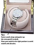 [100% Handgemacht] CHIYODA Uhrenbeweger für 1 Uhr Watch Winder mit Mabuchi Motor - 4