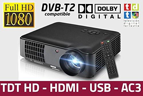 Luximagen HD520 (NEGRO) con TDT, USB, HDMI, VGA, AC3, resolucion real HD, 2 años de garantía