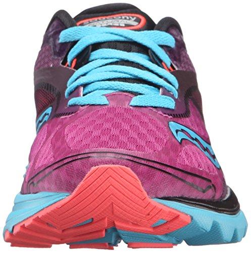 Saucony Damen Kinvara 7 Laufschuhe Pink/Purple/Blue