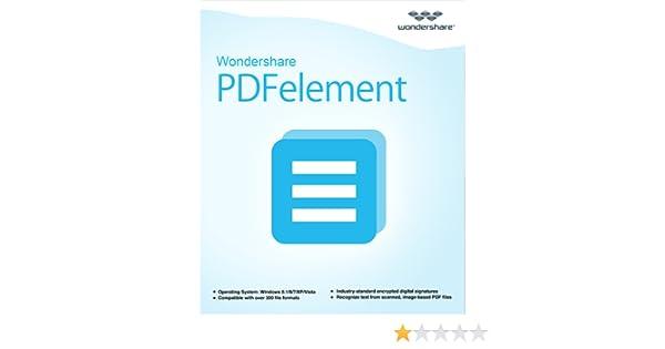 All-in-One PDF Editor--Wondershare PDFelement (Windows