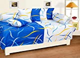 #6: Diwan Set (Set of 8 Pieces-Blue White Pattern by Zain)
