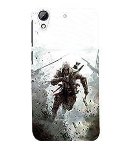 PRINTSWAG WARRIOR Designer Back Cover Case for HTC DESIRE 626S