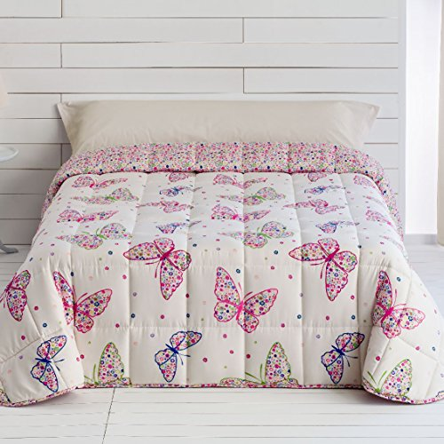 EDREDONES BARCELÓ - Edredones mariposas Otoño-Invierno de 300gr/m2 para cama de 90...