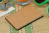 Kartenetui, Kartenhalter, Brieftasche, Portemonnaie - aus Pappe, dünn, minimalistisch, vegan, modern - hellbraun - von BERLIN slim