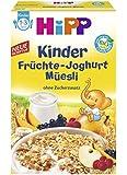 Hipp Kinder Früchte-Joghurt-Müesli, 6er Pack (6 x 200 g)