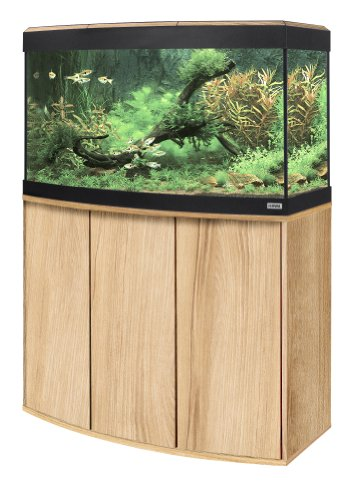 Fluval A11822 Panorama-Aquariumkombination Vicenza, 180 l, kernbuche