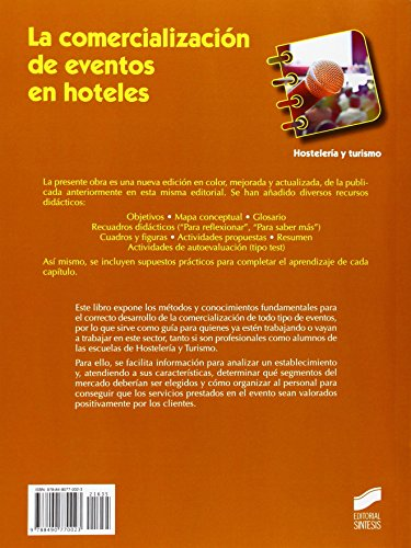 La comercialización de eventos en hoteles (Hostelería y Turismo)