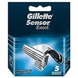 Gillette Sensor Excel 97302251Recharge de 5lames