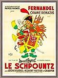 Herbé TM Le SCHPOUNTZ Film Rnnb-Poster/Reproduction A3+(33x48cm) d'1 Affiche...