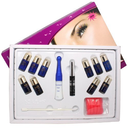 Eyelash Lashes Curling Perming Curler Extra Longer Glue Perm Box