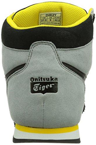 Onitsuka Tiger Lawton, Scarpe da Ginnastica Unisex - Adulto Grigio (GREY/BLACK 1090)