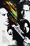 Movie Poster The Fast The Furious Dimensions : Environ 27,9 x 20,3 cm