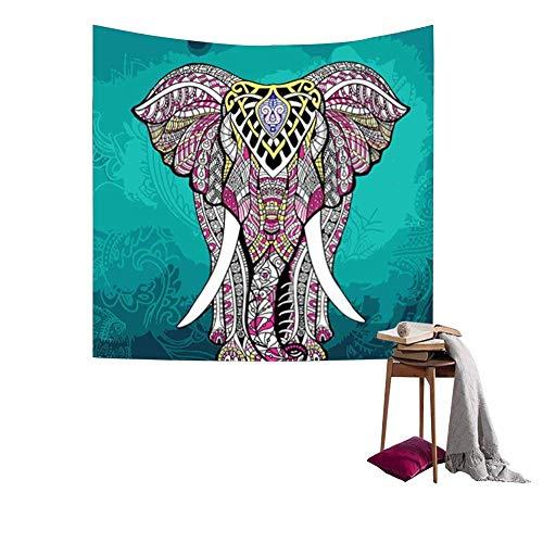 Tapiz elefante bohemio colgar pared como decoración