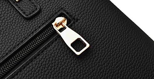 Borsa A Tracolla Elegante In Pelle Da Donna Borsa A Tracolla Moda Elegante Borsa A Mano Borsa Da Donna (nero) Lightpink