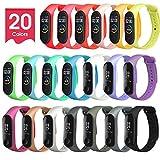 ivoler. 20 Colores Pulseras para Xiaomi Mi Band...