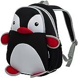 Kids Backpacks, icci [Cute] Kids Backpacks Girls Boys Toddler Backpacks Best [School] [Hiking] [Travel] Sidekick Bags, Cute Penguin Pack Backpacks, Blue