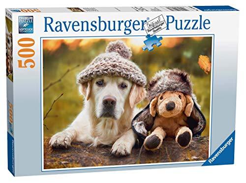 Ravensburger 14783 0 Hund Mit Mütze Puzzle, Mehrfarbig