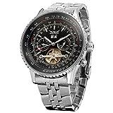 Forsining Men's Automatic Tourbillon Complete Calendar Wrist Watch JAG034M4S2