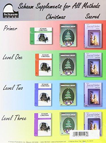 Christmas Solos: Level 4 (Schaum Publications)