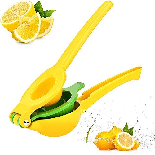 lvedu Metall Lemon Lime Squeezer-PREMIUM Aluminium manuelle Zitruspresse Saftpresse Citrus Nähfuß Saftpresse Aluminium-lime Squeezer