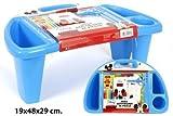 Disney Mickey Mous Kinder Schreibtisch Basteleimer Spielzeugkiste 36 Teilig 19x48x29 cm-Model 2015