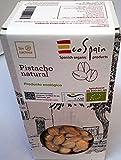 Ökologische rohe Pistazien 350 gr. Ungesalzen. Vakuum-Verpackung